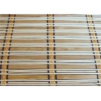 Quality Eco Friendly Natural Bamboo Blinds , Motorized Outdoor Roll Up Bamboo Shades for sale