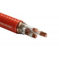 Quality 800 X 600 2.5mm2 Fire Resistant Cable With Inorganic Mineral Synthetic Mica Tape for sale