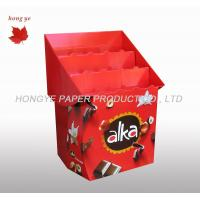 Best Customized Cardboard Pallet Display Glossy Lamination Corrugated Paper Displays wholesale