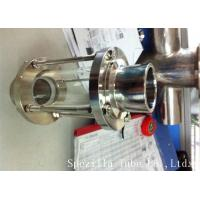 Quality ASTM A270 Sanitary Stainless Steel 304 Fittings Sight Glass For Chemical Industries for sale