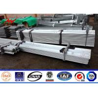 Best Hot Dip Galvanized 8ft-19.6ft Steel Angle Channel For Electric Power Tower Philippines NPC Construction wholesale