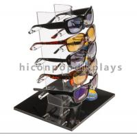 China Tabletop Acrylic Eyewear Display Rack For Brand Shop 5 Pairs Sunglasses Promotion on sale