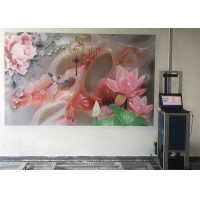 Quality Pigment Ink Tx800 Nozzles Vertical Wall Printer 360X720dpi for sale