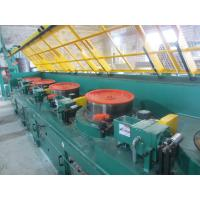China 0.7mm Carbon Steel Wire Straight Wire Drawing Machine , High Efficient Wire Processing Machine on sale