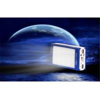 Best Shock / Dust Resistant Electroluminescent Products Dual USB Solar Mobile Power Supply wholesale