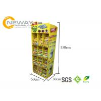 Best Oreo Cookies Paper Cardboard Shelving Displays , Retail Display Racks wholesale