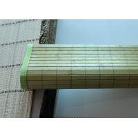 Quality Custom Color Indoor Bamboo Roll Up Shades Weaving With Raffia Long Lifespan for sale