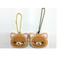Quality PVC key holders custom cartoon animal key holders supply and manufacturer for sale