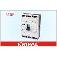 Quality 630A 3 Pole Mccb Circuit Breaker Overload Short Circuit And Under Voltage Protection for sale