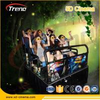 Quality Hydraulic / Electronic System 7d Motion Ride Simulator 7d Cinema With 4d Motion Chair for sale