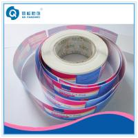China Roll Adhesive Glossy Label For Plastic Bottle  / Self Adhesive Plastic Labels In Roll on sale