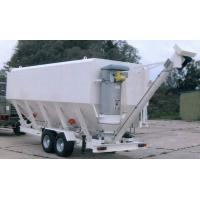 China Horizontal 400 C 600 C F 800 C F Mobile Cement Silo for sale