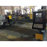 Quality High Accuracy CNC Plasma Cutting Machine With 1 Flame Torch And 1 Plasma Torch for sale