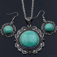 China Fashion Turquoise Jewelry Set on sale