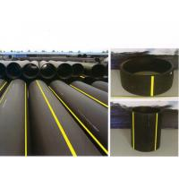 Quality Chemical resistant, no scaling, heat docking or fused connection PE Gas twisted Pipe for sale