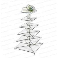 China CD (126) square wedding cake stands on sale