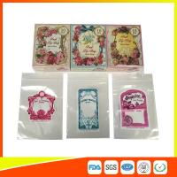 China Colorful Custom Printed Ziplock Bags For Shop , Promotion Decorative Bags on sale