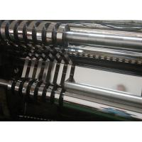 Quality Bright Silver Polyester Film , Transparent PET Film For Decoration / Clothing for sale