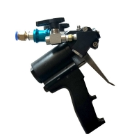 Quality maximum working pressure is 35mpa and output fiow is 1-12kg/min ,Pneumatic Control Spray Gun for sale