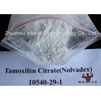 Quality White Crystalline Raw Steroid Powders Nolvadex Tamoxifen Citrate Bodybuilding CAS 54965-24-1 for sale