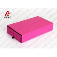 Best Drawers Type Collapsible Paper Box , Retail Jewelry Cardboard Boxes With Logo wholesale