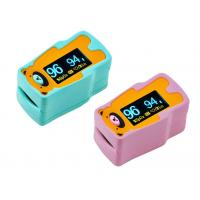 Buy Green Pink Pediatric Oxi Pulse Finger Oximeter SPO2 PR PI Function Oximetro Saturation Pulsoximeter for Children at wholesale prices