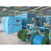 China Touch Screen Interface Copper Wire Twisting Machine , Cable Wire Buncher Machine on sale