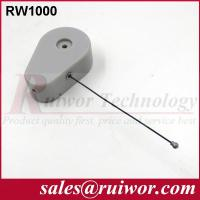 Quality Anti Theft CableFor Ring Display Store , Parts Feeding Retractable Security Cable for sale
