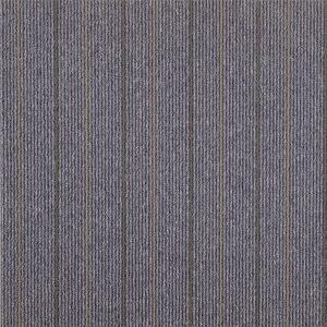 Quality 3mm Pile Height Interface Blueprint Carpet Tile  / Eco Modular Carpet Tiles for sale