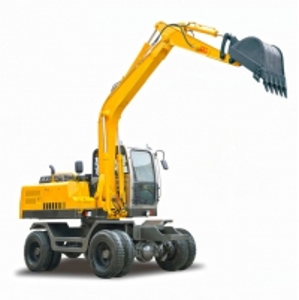 Quality 85KW 12.5 Ton Bucket Wheel Excavator With Cummins Engine for sale