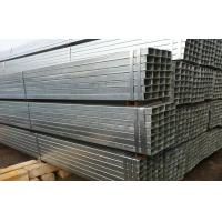 Quality Cold Rolled Structural Galvanized Steel Tubing Square ASTM A53 BS1387 GB/T3091 for sale