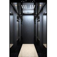 China Gearless Black Mirror Passenger Elevator Home Lift with CE Certificate on sale