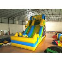 Quality Hot sale digital printing inflatable the minions standard dry slide inflatable single dry slide for sale