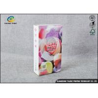 Buy cheap Embossing Paper Cosmetic Packaging Boxes CMKY Pantone Printing OEM Accepted from wholesalers
