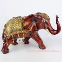 Buy cheap Resin Elephant Decoration Resin Elephant Craft Resin Thailand Elephant Figure (XH070) from wholesalers