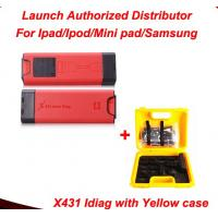 Quality 2014 New Release Launch X431 iDiag Auto Diag Scanner for IOS/Android X431 Idag with yellow case full set for sale