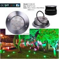 Best CE & ROHS Die-casting Aluminum IP67 Outdoor Garden Inground Lights Waterproof  Led Underground Light wholesale