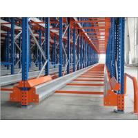 Quality Stainless Steel Shuttle Pallet Racking Drive In Rack With Automatic Radio Function for sale