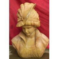 Quality Lady Marble bust statue for sale