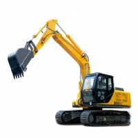 Quality 200L Tank 0.5m3 Bucket 13.5T Chain Road Builder Excavator for sale