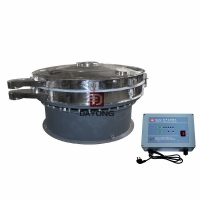 Quality One Layer 0.75kw Plantain Flour Ultrasonic Vibro Sifter for sale