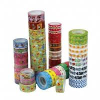 Buy cheap colorful stationery tape from wholesalers
