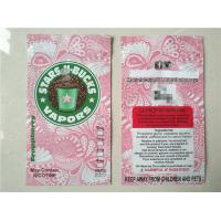 Quality Plastic ziplock  herbal incense packaging bag with different flavors for sale