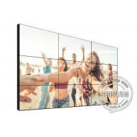 Quality TV Diy Digital Signage Video Wall 1.7mm 49 Inch 3*3 4K DID Touch Screen Kiosk for sale