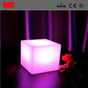 Best Hot Sale LED Cube Light ,Led Glow Cube Stool,Light Up Bar Stool Colorful Changing Indoor Night Light wholesale