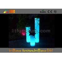 Best Polyethylene LED Column for Wedding LED Pillars By Wireless Remote Control wholesale