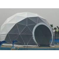 China 12m Diameter Large Wedding Tent , Transparent Party Tent With PVC Door / Glass Door on sale