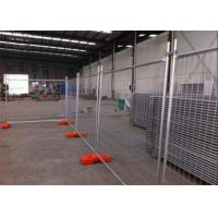 Quality Portable Galvanized Temporary Fence / Temporary Site Fencing Low Carbon Steel for sale