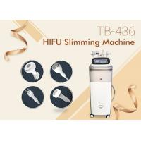 Quality Vertical High Intensity Focused Ultrasound HIFU Body Slimming Fat Reduction Machine for sale