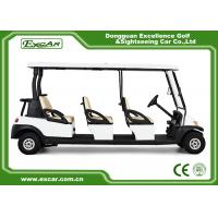 Quality EXCAR CE Certificate Electric Golf Cart 48V Trojan Battery Electric Golf Carts for sale